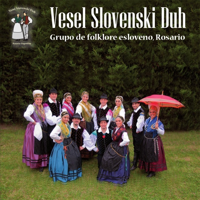 VeselSlovenskiDuhGrupo de folklore esloveno, Rosario