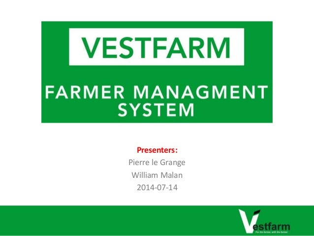 Farmer Management System