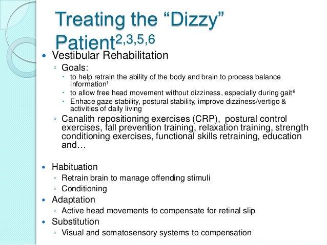 Vestibular Rehabilitation Inservice