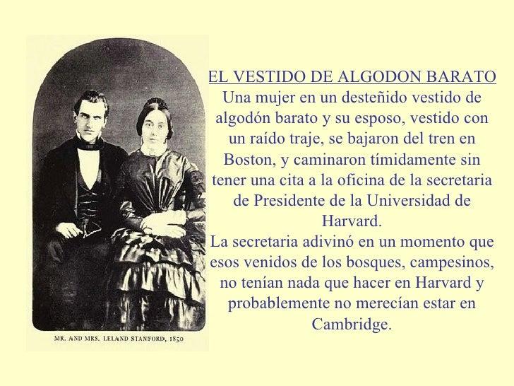 EL VESTIDO DE ALGODON BARATO Una mujer en un desteñido vestido de algodón barato y su esposo, vestido con un raído traje, ...