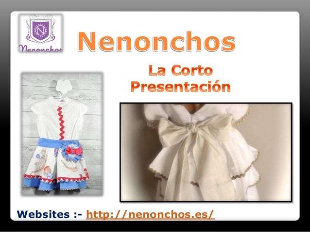 Websites :- http://nenonchos.es/