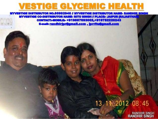Vestige Glycemic Health BY RITU SINGH