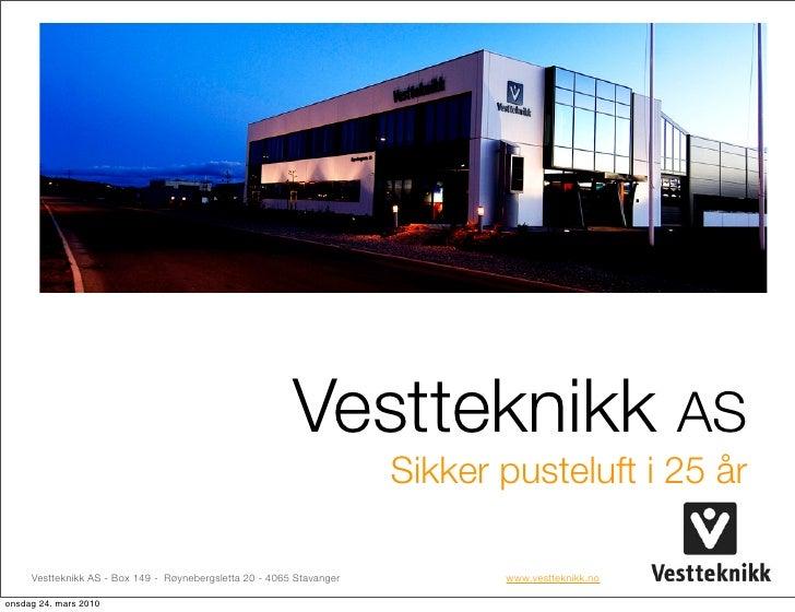 Trainingportal Information Meeting - Vestteknikk - Gas