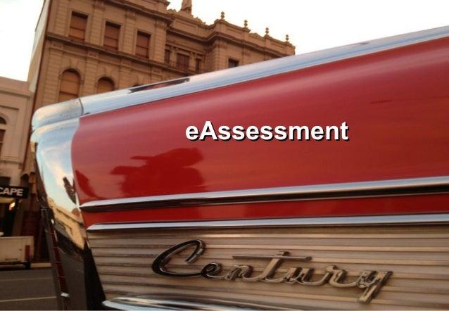 e Assessment