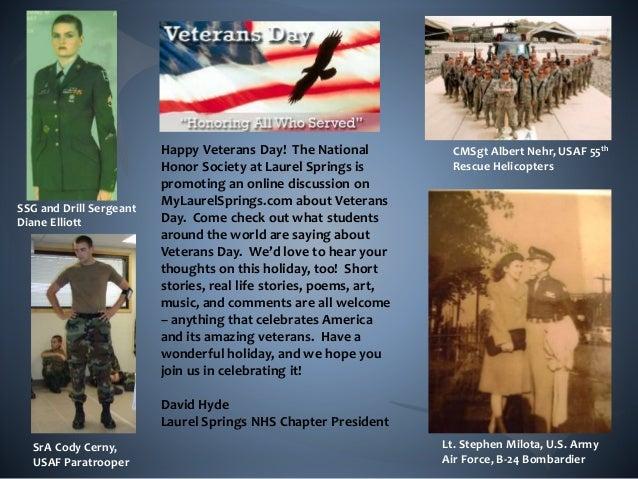 Lt. Stephen Milota, U.S. Army Air Force, B-24 Bombardier SSG and Drill Sergeant Diane Elliott CMSgt Albert Nehr, USAF 55th...