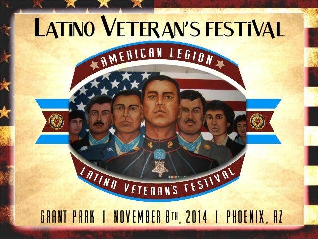 2014 Veteran's Day Festival in Phoenix