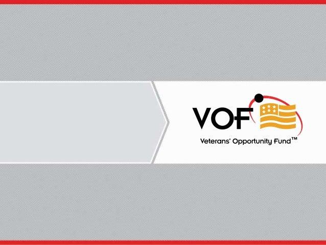 Veterans Initiative Panel: Veterans Opportunity Fund