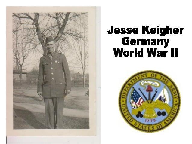 Jesse Keigher Germany World War II