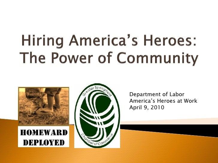 Veterans Task Force  Greater Springfield Chamber
