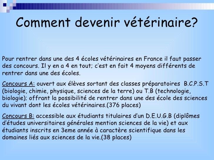 Comment devenir veterinaire - Comment devenir logis de france ...