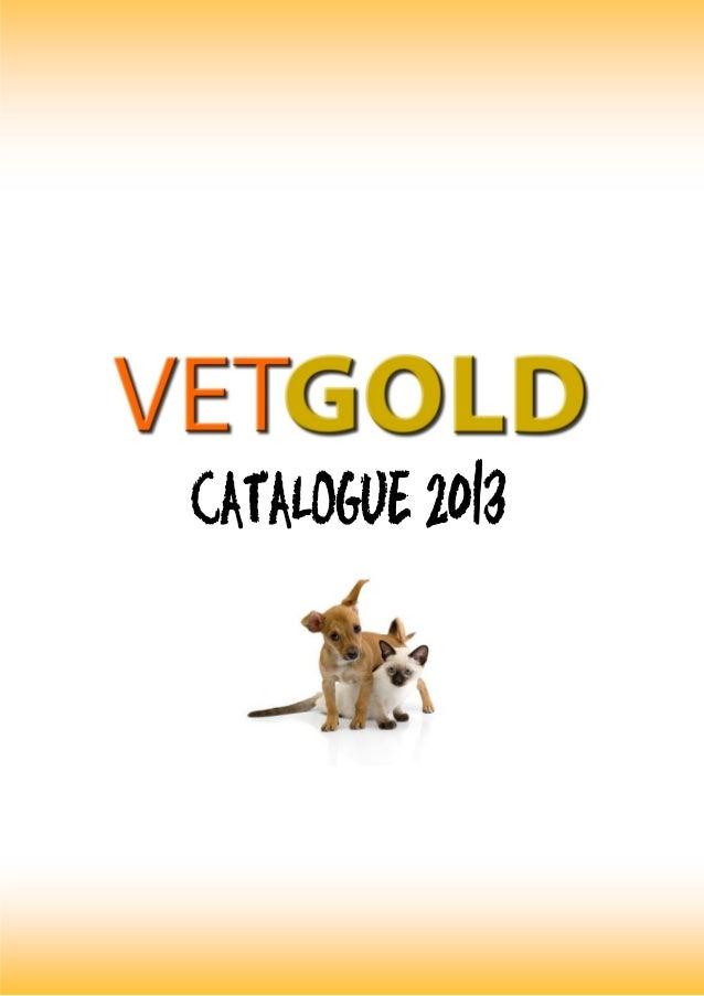 Vet gold product catalogue