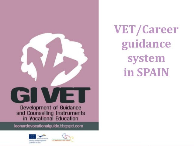 VET/Career guidance  system in SPAIN