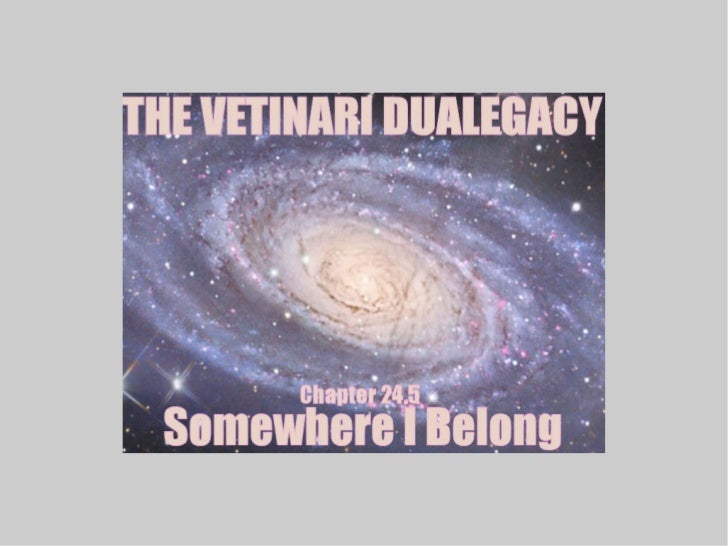Welcome back to the Vetinari Dualegacy! This is Chapter 24.5: Somewhere I Belong!Last time, the usual assortment of stuff ...