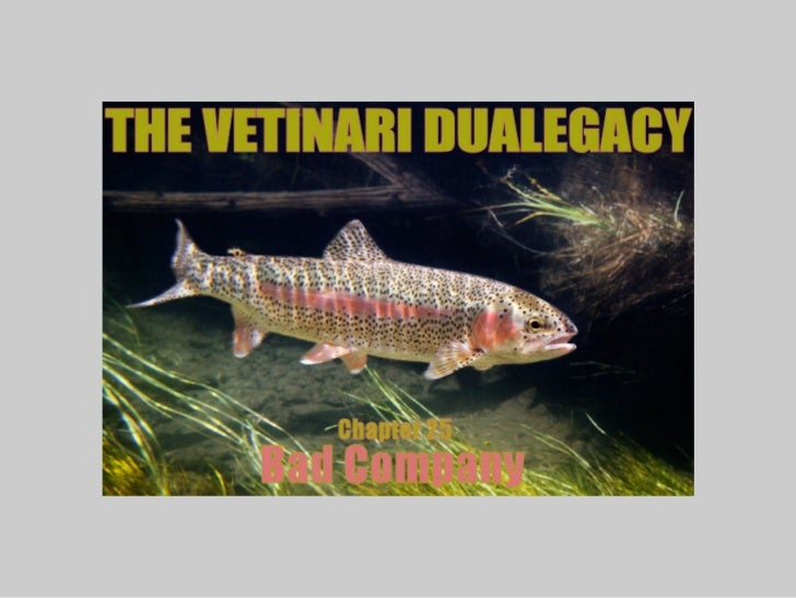 The Vetinari Dualegacy Chapter 25