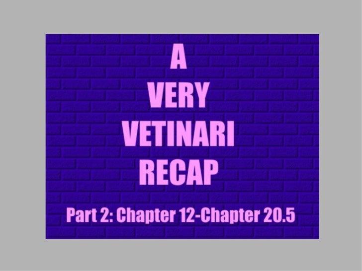 The Vetinari Dualegacy: Recap 2