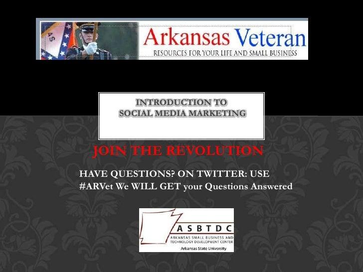 Vet intro social media presentation
