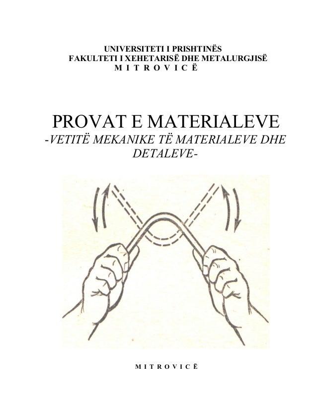 Vetitë mekanike të materialeve dhe detaleve-Përkthim