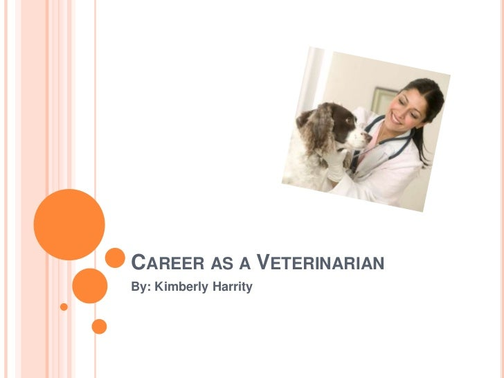 Career as a Veterinarian <br />By: Kimberly Harrity<br />