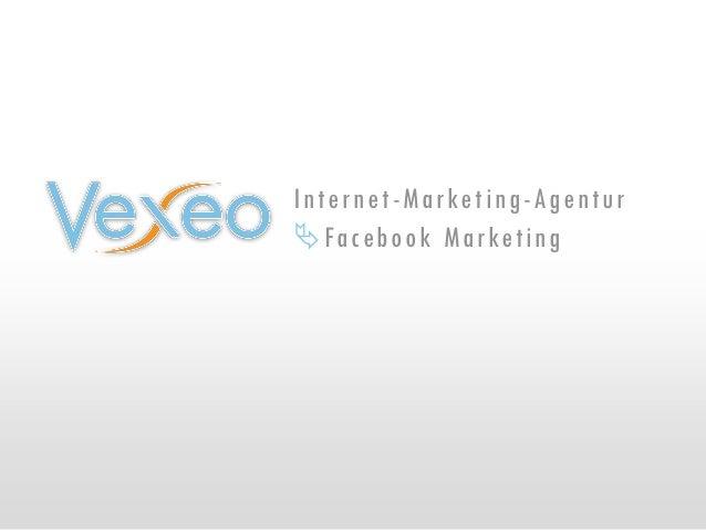 Internet-Marketing-Agentur Facebook Marketing