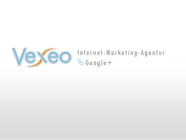 Internet-Marketing-Agentur Google+