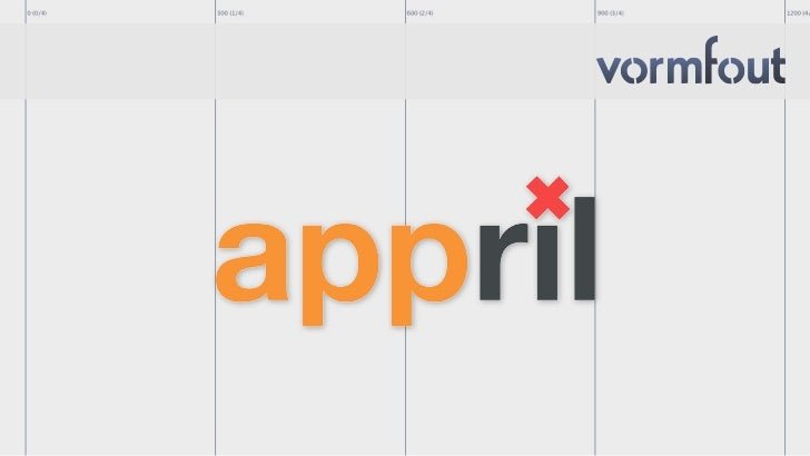 Appril Amsterdam opening