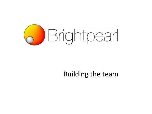 Vfb2012 growing the team brightpearl chris tanner