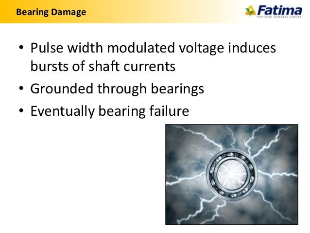 Variable frequency drives for Vfd motor bearing failure