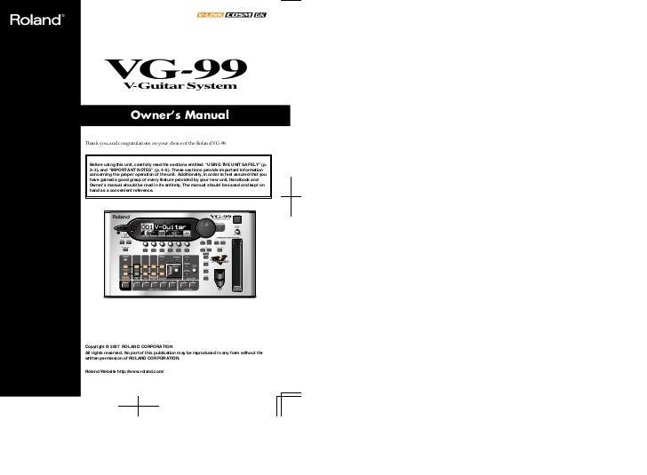 Roland Vg 99 e4