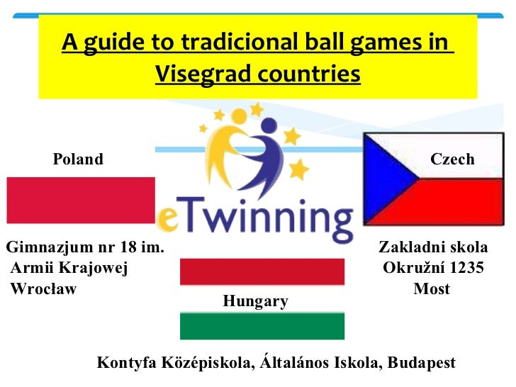 A guide to tradicional ball games in  Visegrad countries      Poland Hungary Czech Zakladni skola Okružní 123...