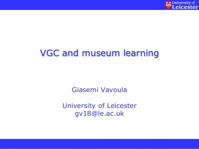 Visitor-Generated Content and Learning