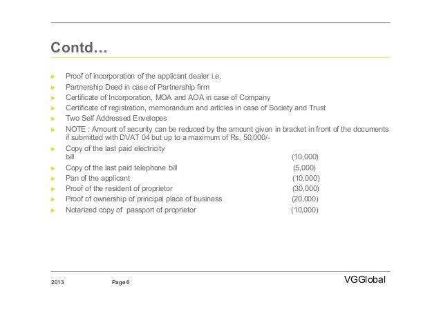 Firm Registration Certificate Firm► Certificate of