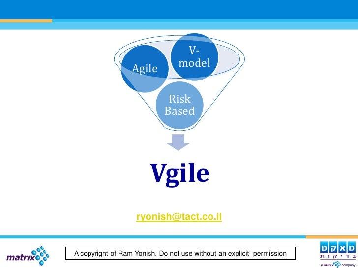 Vgile Development Lc By Ram Yonish