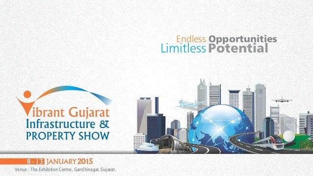 Venue : The Exhibition Centre, Gandhinagar, Gujarat. Endless Opportunities Limitless Potential