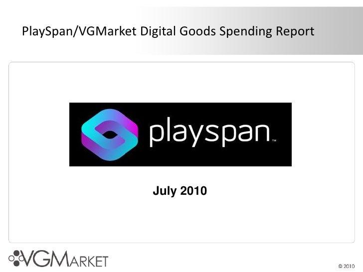 Virtual Goods Market (courtesy Playspan)