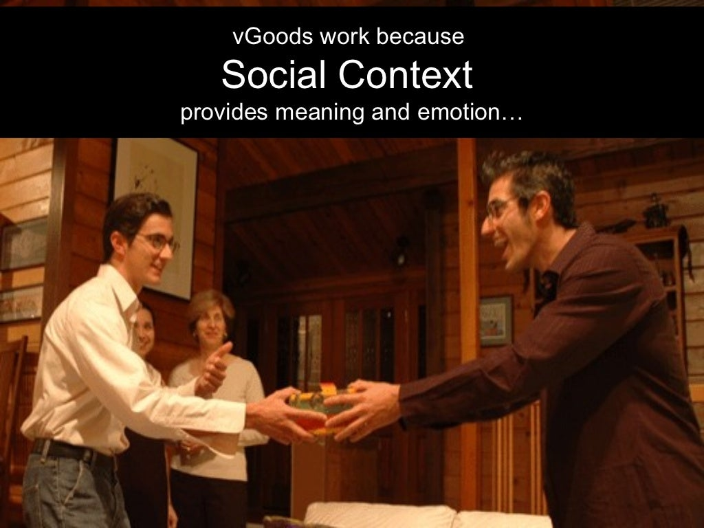 What is the meaning of social context?