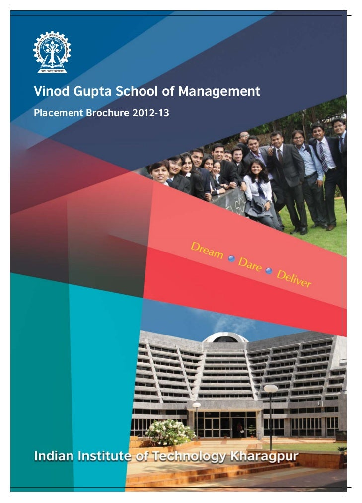 placement brochure design - vgsom placement brochure 2012 13 final