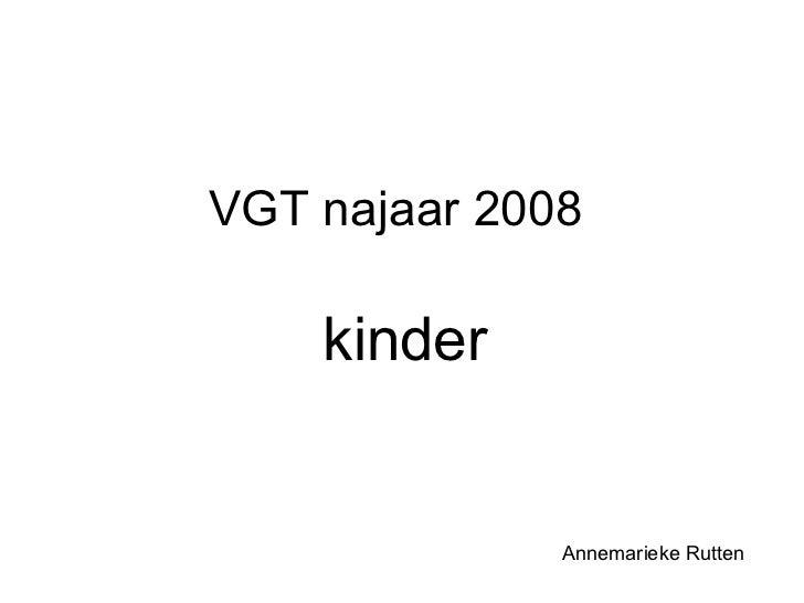 Vgt najaar 2008 kinder final