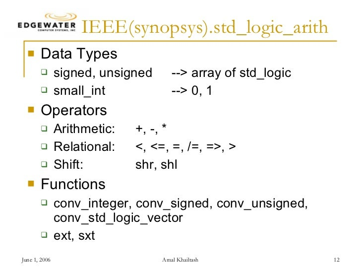 vhdl math tricks 1  SynthWorks VHDL Training Experts in
