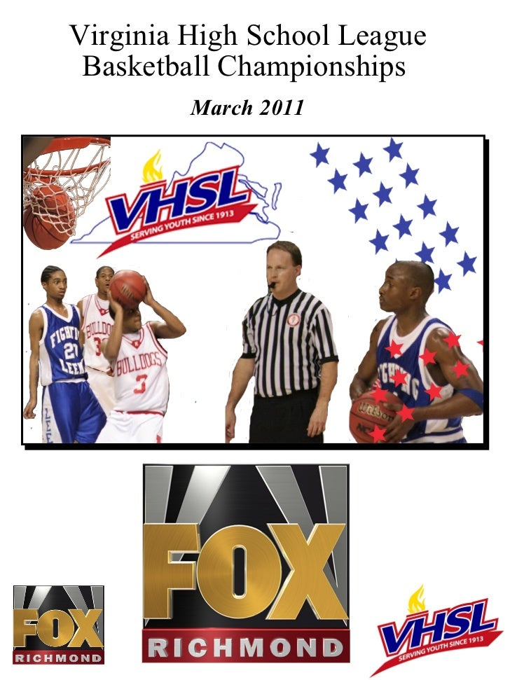 Virginia High School League Basketball Championships  March 2011
