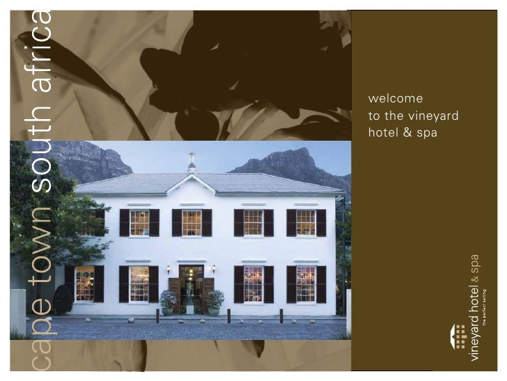 welcometo the vineyardhotel & spa