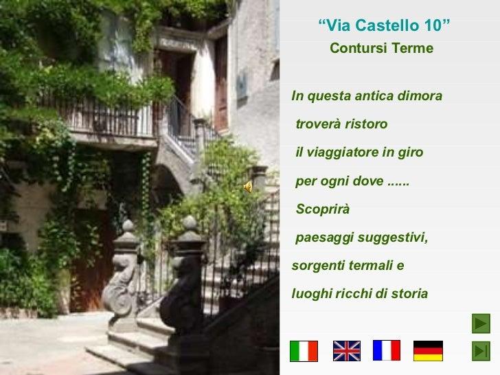Via castello 10 slideshare