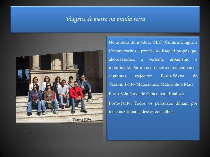 No âmbito do módulo CLC (Cultura Língua e Comunicação) a professora Raquel propôs que abordássemos a vertente urbanismo e ...