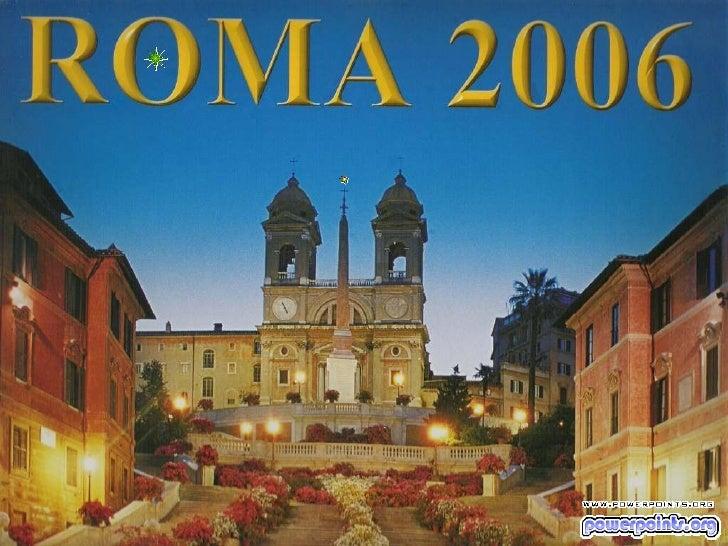 Viajar a-roma