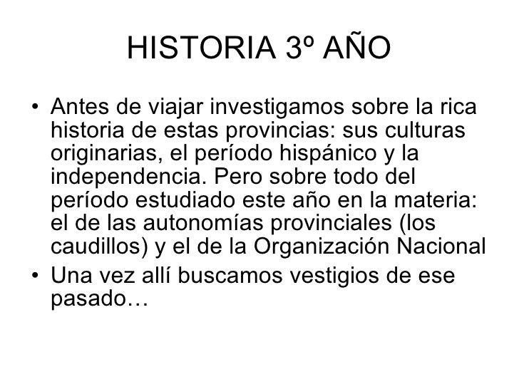 Viaje 2 Y 3 Historia Y Civica