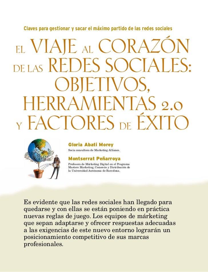 Factores de éxito - Redes sociales- Herramientas 2.0 Gloria Abati - Marketing alliance