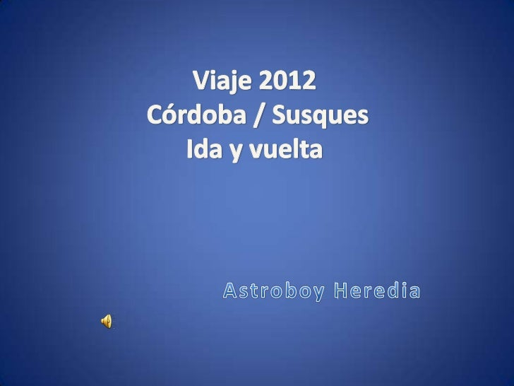Viaje a susques 2012