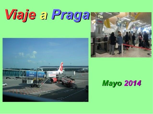Viaje en avión a Praga