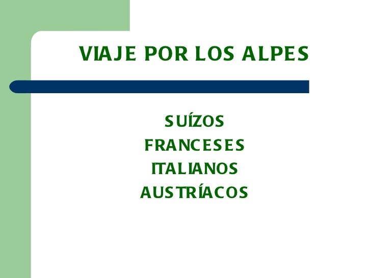 Viajes por los_alpes