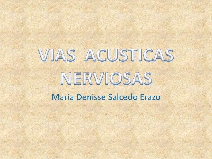 Maria Denisse Salcedo Erazo