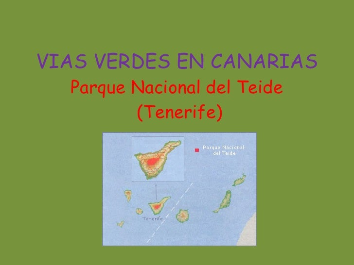 Vias Verdes En Canarias